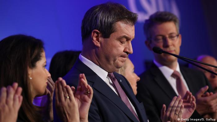 Landtagswahl Bayern | Markus Söder, Ministerpräsident CSU (Getty Images/S. Gallup)