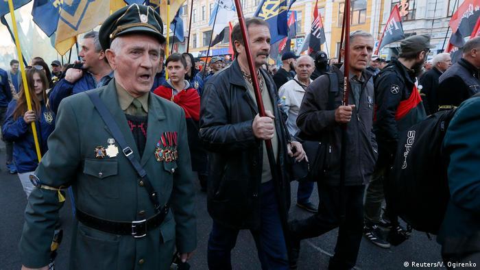 Ukraine Tag der Verteidigung der Ukraine in Kiew (Reuters/V. Ogirenko)