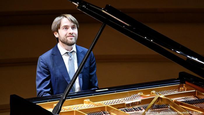 Daniil Trifonov in 2018 in Moscow (picture alliance/dpa/Sputnik/G. Sisoev)