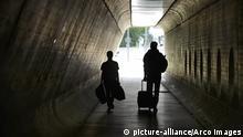 Deutschland Berlin Tunnel Flughafen Tegel