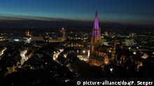 BdT Turm des Freiburger Münsters ohne Gerüst