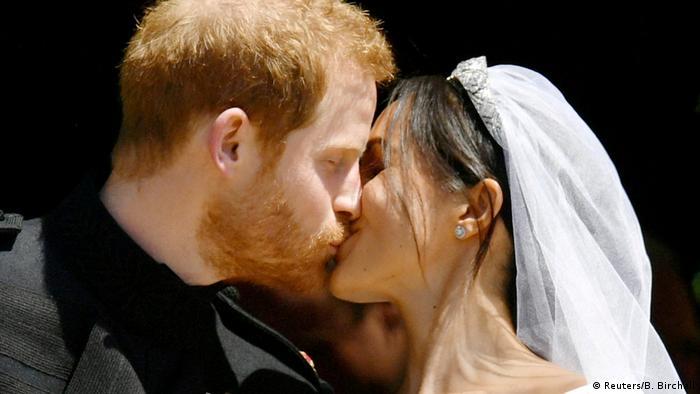 Großbritannien Harry und Meghan bei der Royal Wedding