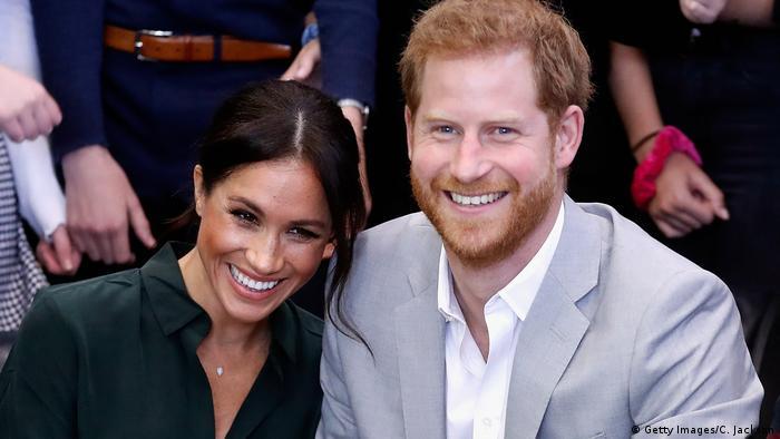 Meghan und Harry (Getty Images/C. Jackson)