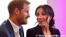 Großbritannien Harry und Meghan bei den WellChild Awards in London