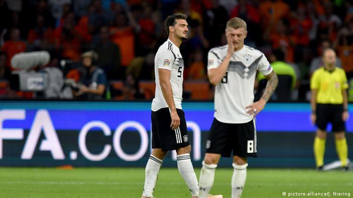 UEFA Nations League - Niederlande - Deutschland 3:0