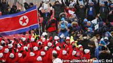 Nordkorea Sport-Diplomatie