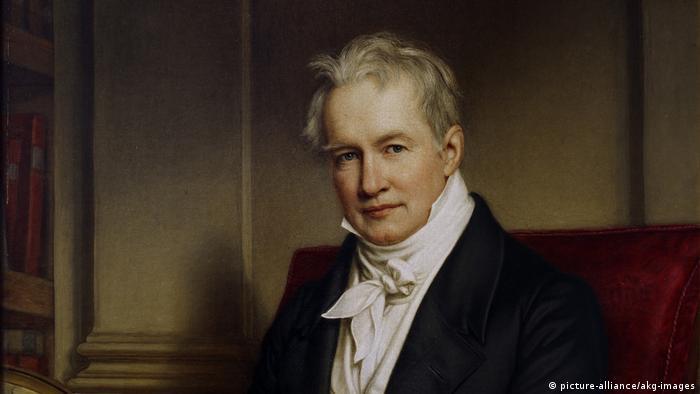 Alexander von Humboldt: retrato pintado por Joseph Stieler.