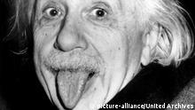 Einstein mit Zunge