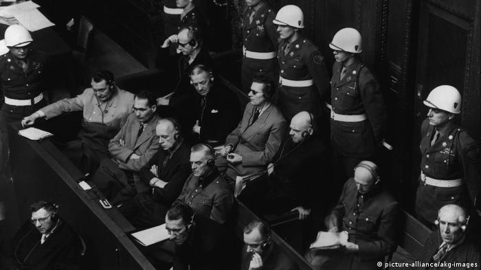 Réus em Nurembergue