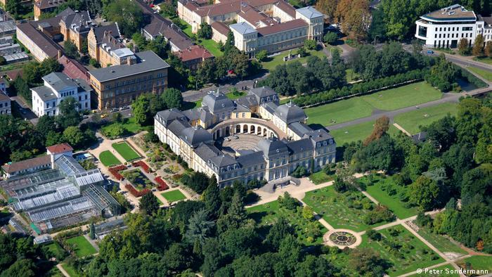 Барочный дворец Поппельсдорф в Бонне