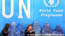 Afghanistan UN-Welternährungsprogramms (WFP) in Kabul (picture-alliance/dpa/AFP/Nemenov)