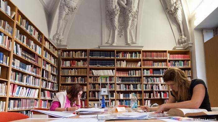 Боннский университет, библиотека одной из кафедр