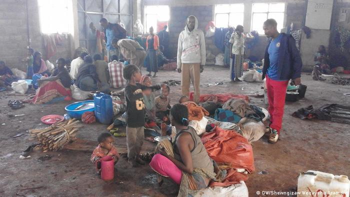 Äthiopien ethnische Minderheit der Gedio