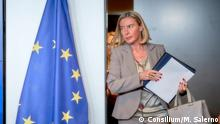 Federica Mogherini Hohe Vertreterin EU Aussenpolitik