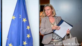 Federica Mogherini Hohe Vertreterin EU Aussenpolitik (Consilium/M. Salerno)