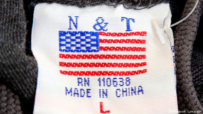 USA Etikett Made in China (Reuters/K. Lamarque)