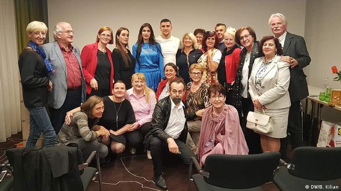 Publikum mit der Prof. Dr. Bisera Suljic - Boskailo (DW/B. Kilian)