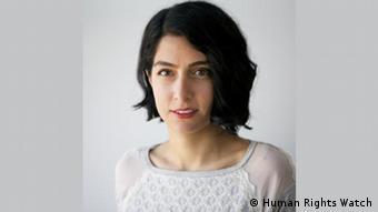 تارا سپهریفر، پژوهشگر بخش خاورمیانه و شمال آفریقا در دیدهبان حقوق بشر
