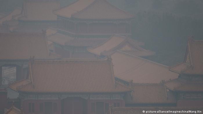 China Smog in Peking