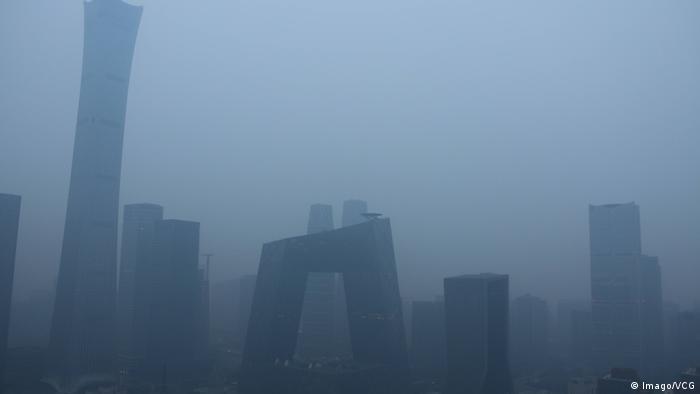 China Smog in Peking (Imago/VCG)