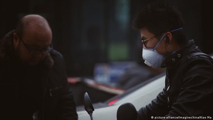 China Smog in Peking (picture-alliance/Imaginechina/Xiao Ma)
