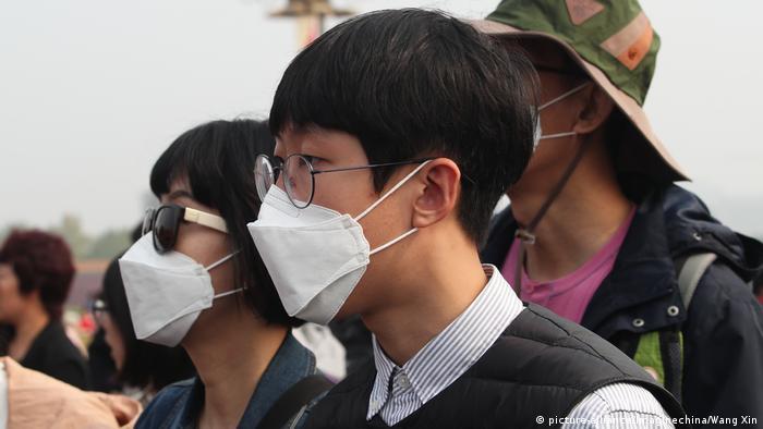 China Smog in Peking (picture-alliance/Imaginechina/Wang Xin)