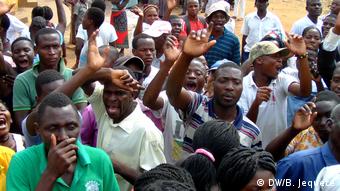 Mosambik Manica Protest der RENAMO