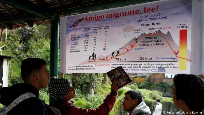El sendero pasa por la ciudad de Bucaramanga y por una montaña. Quien no es llevado, recorre tramos de los 190 kilómetros a pie.