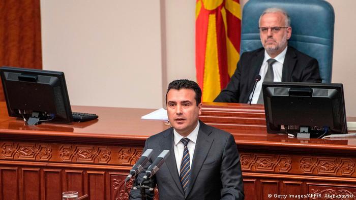 Mazedonien Ministerpräsident Zoram Zaev