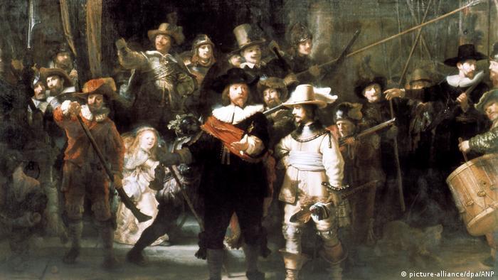 Die Nachtwache von Rembrandt (picture-alliance/dpa/ANP)