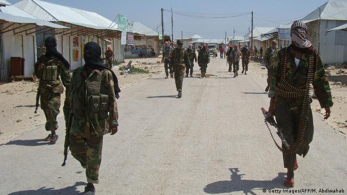 Somalia Al-Shabab-Kämpfer