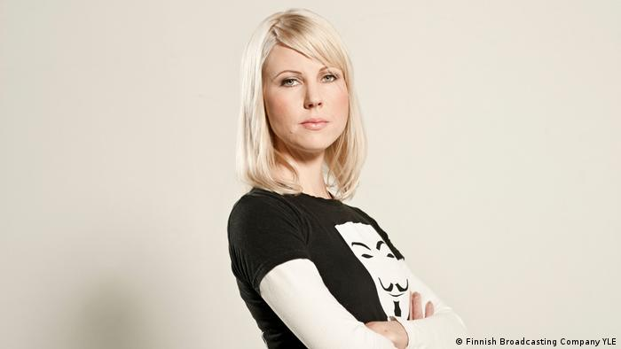 Finnish journalist Jessikka Aro (Finnish Broadcasting Company YLE)