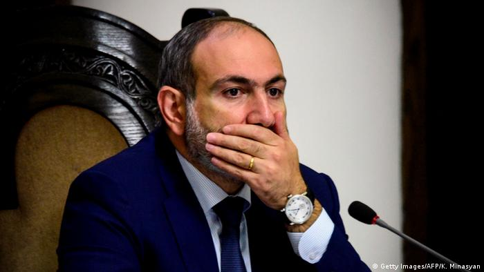 Armenischer Premier Nikol Pashinyan (Getty Images/AFP/K. Minasyan)