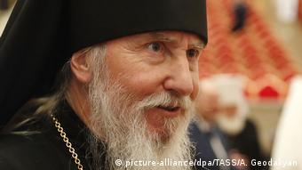 Clos-up of Archbiship Mark, head of the Russian Orthodox diaspora church in Germany (picture-alliance/dpa/TASS/A. Geodakyan)