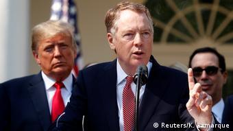 USA Robert Lighthizer, Handelsbeauftragter im Kabinett Trump (Reuters/K. Lamarque)