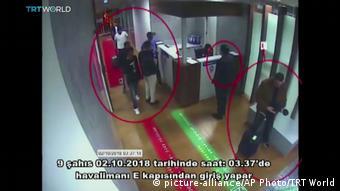 Türkei Überwachungskamera am Flughafen Istanbul