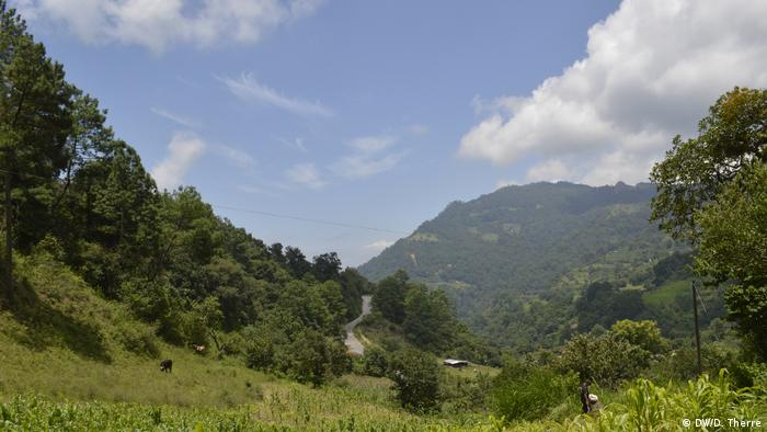 The holy mountain of the Otomi people