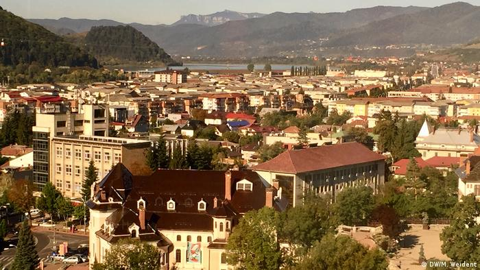 Piatra Neamt, old city