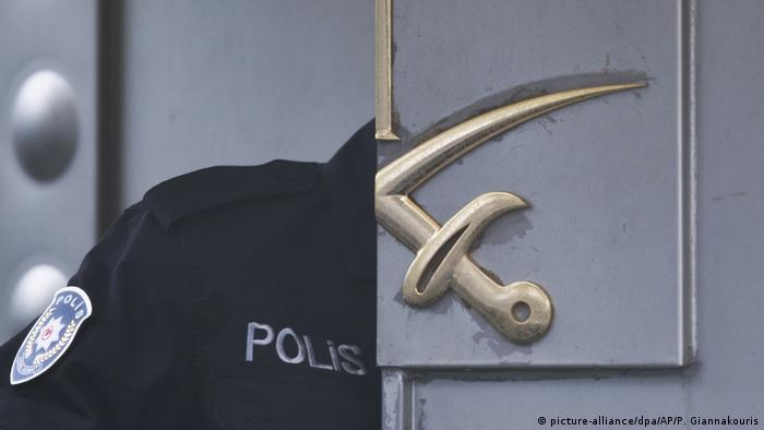 بازرسی پلیس ترکیه از کنسولگری عربستان در استانبول