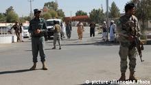 Afghanistan Soldaten vor dem Haus eines getöteten Parlamentskandidaten