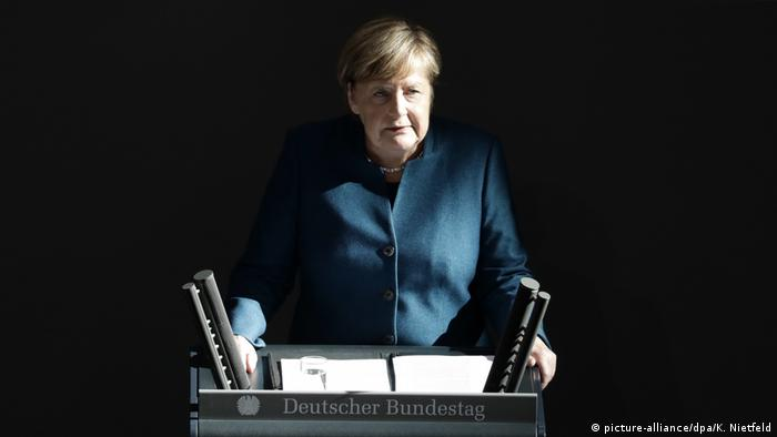 Bundestag: Angela Merkel