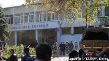Halbinsel Krim Explosion in einer Schule