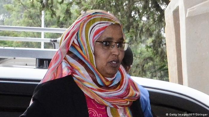 Ethiopia's new Minister of Defence Aisha Mohammed