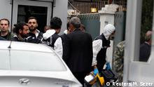 Turkish forensic officials arrive to the residence of Saudi Arabia's Consul General Mohammad al-Otaibi in Istanbul, Turkey October 17, 2018. REUTERS/Murad Sezer
