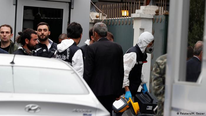 İstanbul'daki Suudi başkonsolosluğunda ve başkonsolosun konutunda geçtiğimiz günlerde Türk yetkililerce incelemeler yapılmıştı.