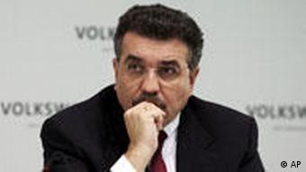 Francisco Javier Garcia Sanz Vorstandsmitglied der Volkswagen AG