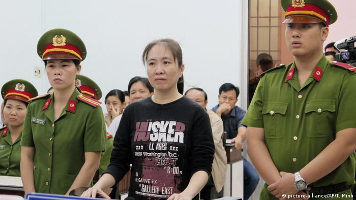Vietnam, Khanh Hoa: Bloggerin Nguyen Ngoc Nhu Quynh vor Gericht