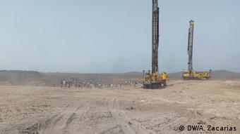 Mosambik, Moatize: Anwohner protestieren und blockieren Vales Kohlenbergwerk