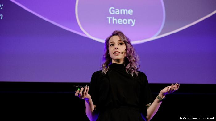 Norwegen | Amber Baldet at Oslo Innovation Week (Oslo Innovation Week)