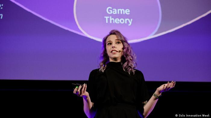 Norwegen | Amber Baldet at Oslo Innovation Week